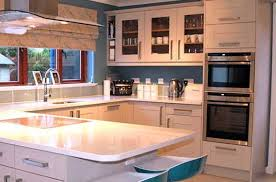 How High Kitchen Wall Cabinets How To Mix Tall Kitchen Units U0026 Wall Units Diy Kitchens Advice