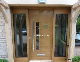contemporary front door fhb clear sidelights new house