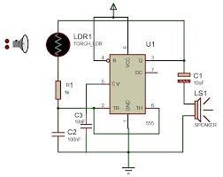 project theory laser based security alarm using 555 timer with