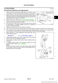 nissan 350z 2007 z33 clutch workshop manual
