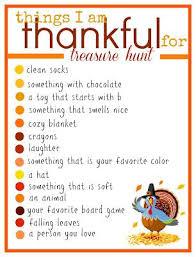 a thanksgiving treasure hunt thanksgiving family