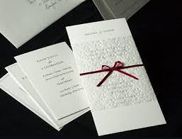 sles of wedding programs catholic wedding invitations sles style by modernstork