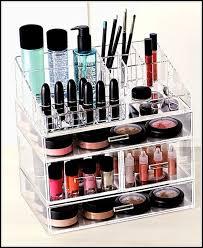 Bathroom Makeup Organizers Cosmetic Organizers Walmart Home Design Ideas