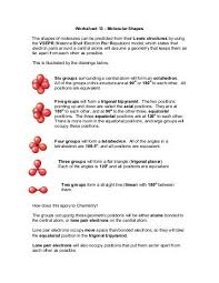 organic molecules worksheet teacherweb