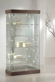 lockable glass display cabinet showcase popular premier 131 display showcase this unit has a wide base and
