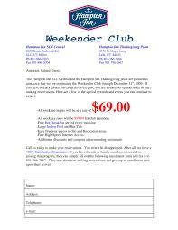 weekender club sign up by hton inn issuu