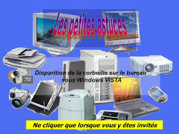 comment installer la corbeille sur le bureau disparition de la corbeille sur le bureau sous windows vista ne