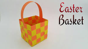 easter baskets to make easter basket woven diy tutorial by paper folds