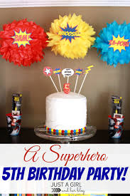 Birthday Home Decoration by Interior Design Creative Superhero Theme Party Decorations