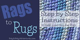 How To Rag Rug Rags To Rugs How To Join Fabric Without Sewing U2014 Day To Day