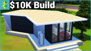 the sims 4 building 10k build challenge tiny home youtube