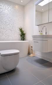 grey and white bathroom ideas charming grey and white bathroom ideas with glass mosaic wall tile