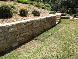 garden wall stone decor references