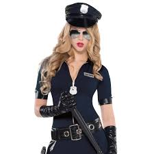 police halloween costume kids ladies police cop halloween costume fancy dress