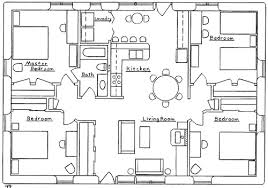 4 bdrm house plans modern 4 bedroom building plan with regard to bedroom shoise