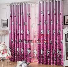 Light Pink Blackout Curtains Kids Children Animal Patterned Cute Organic Kids Pink Curtains Buy