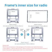 Ford Escape Dimensions - 2din car radio fascia for ford escape mazda tribute mercury