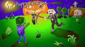 Mine Craft Halloween by Minecraft Themed Happy Halloween Card By Skuromatter On Deviantart