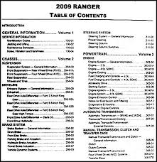 07 ford ranger specs 2009 ford ranger repair shop manual original 2 volume set
