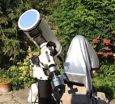 staring at the sun backyard astronomer captures the beauty of the