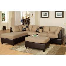 Chocolate Sectional Sofa Sectional Chocolate Brown Sectional With Ottoman Pink And Brown