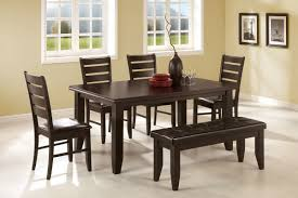 dining room table bench seats home deco plans