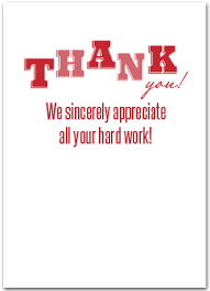 employee appreciation products business greeting cards