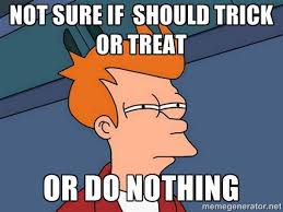 Trick Or Treat Meme - futurama halloween meme imgur