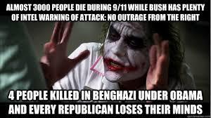 Benghazi Meme - political memes the joker benghazi