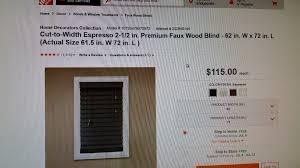 100 home decorators faux wood blinds cordless faux wood