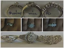 promise ring engagement ring wedding ring set promise ring engagement ring and wedding ring set 15552 patsveg