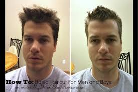 diy mens haircut how to cut mens hair