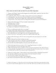 psych b310 quiz 5 docsity