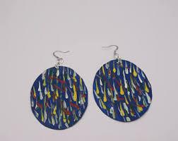 paper earrings paper earrings etsy