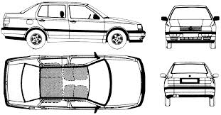 volkswagen drawing car blueprints volkswagen vento cl blueprints vector drawings