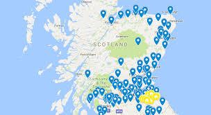 Dundee Scotland Map Scottish Club Website List U2013 Cricket Scotland