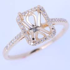 ring mountings gold engagement ring settings