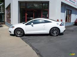 mitsubishi cars white 2011 northstar white mitsubishi eclipse gs sport coupe 29005042