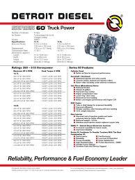 detroit series 60 engine specs fuel injection diesel engine