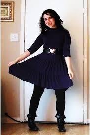 purple macys dresses black leggings black charming charlie boots