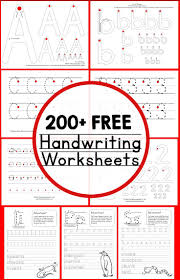 teaching handwriting free handwriting worksheets handwriting