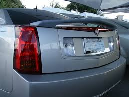 cadillac cts custom paint cadillac cts painted spoiler 2 post 2003 2004 2005 2006