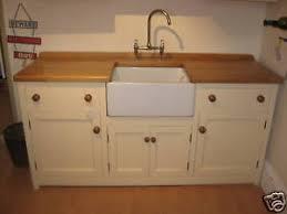 X  MURDOCH TROON FREESTANDING PINE KITCHEN BELFAST SINK - Sink units kitchen