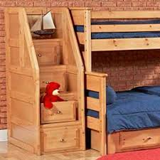 Trendwood Laguna TwinFull Bunk Bed With Underdresser And Storage - Trendwood bunk beds