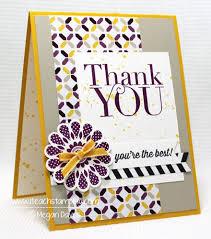 handmade card designs a thank you card i teach sting