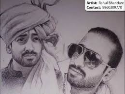copy of portrait painting u0026 pencil sketch artist pune u0026 mumbai