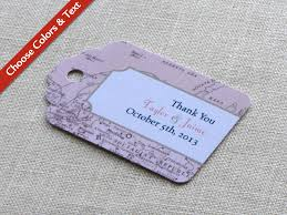 Map Favors by Vintage Map Wedding Favor Tag Luggage Tag Destination Travel