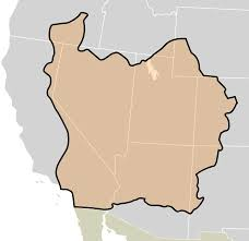 Blank Map Of Us States And Capitals by State Of Deseret Wikipedia