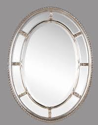 Oval Mirrors For Bathroom Bathroom Bathroom Brushed Nickel Wall Mirror Oval Mirrors For