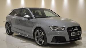 nardo grey nardo grey audi rs3 2 5 sportback s tronic quattro at baytree cars